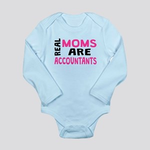 Real Moms Are Accountants Body Suit