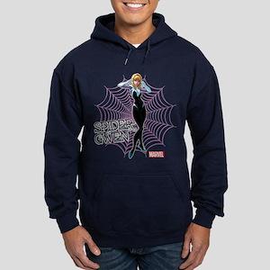 Spider-Gwen Unmasked Hoodie (dark)