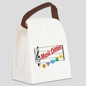 Music Ditties Canvas Lunch Bag