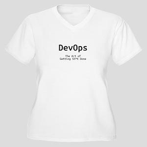 DevOps - The Art of Getting Sh*t Done Plus Size T-
