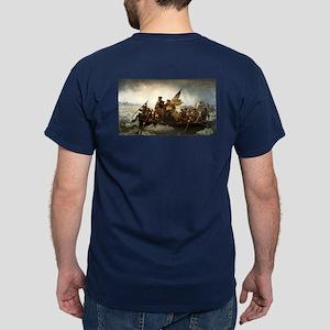 Washington Crossing the Delaware by L Dark T-Shirt