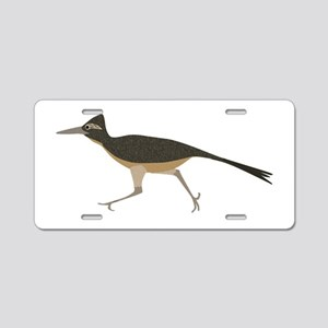 Roadrunner Aluminum License Plate