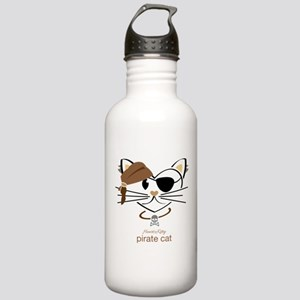 Pirate Cat Stainless Water Bottle 1.0L