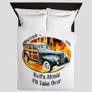Packard Woodie Queen Duvet