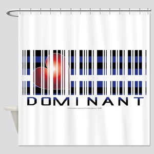 Dominant Shower Curtain