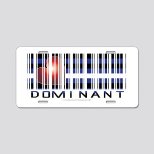Dominant Aluminum License Plate