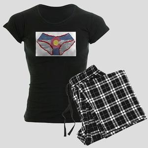Colorado Flag Panties Pajamas
