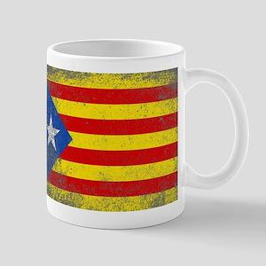 Grunge Catalan Flag Mugs