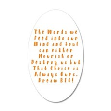 A Positive Meal Wall Decal