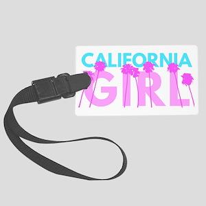 California Girl Large Luggage Tag