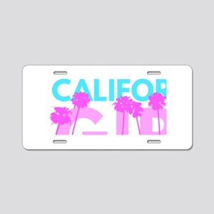 California Girl Aluminum License Plate