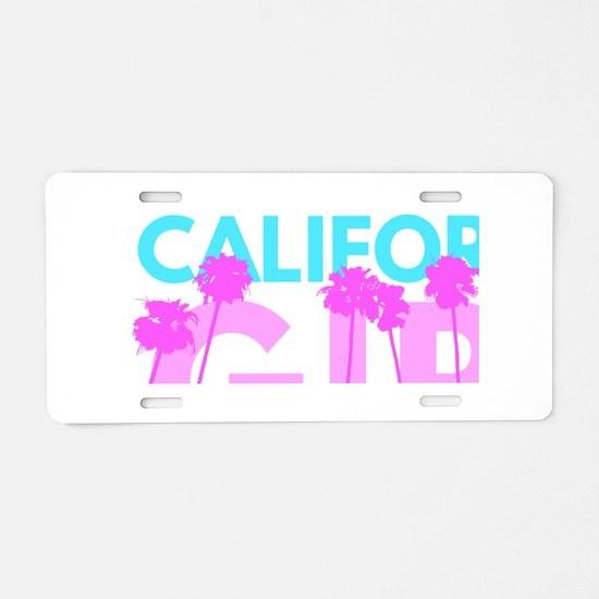 California Girl Aluminum License Plate