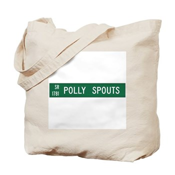 Polly Spouts, McDowell County (NC) Tote Bag