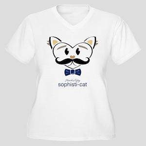 Sophisti-Cat Plus Size T-Shirt
