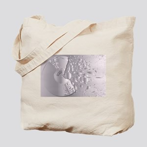 Shattered Record Background Tote Bag