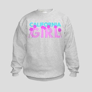 California Girl Kids Sweatshirt
