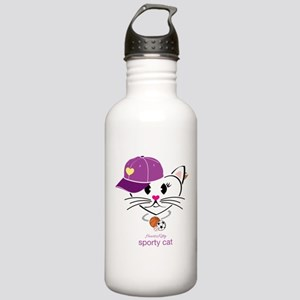 Sporty Cat Stainless Water Bottle 1.0L