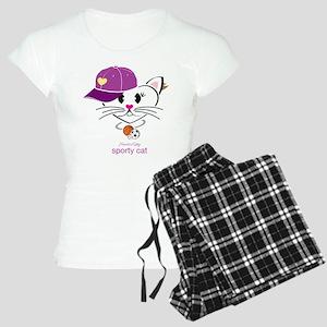 Sporty Cat Women's Light Pajamas