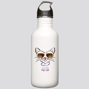 Hip Cat Stainless Water Bottle 1.0L