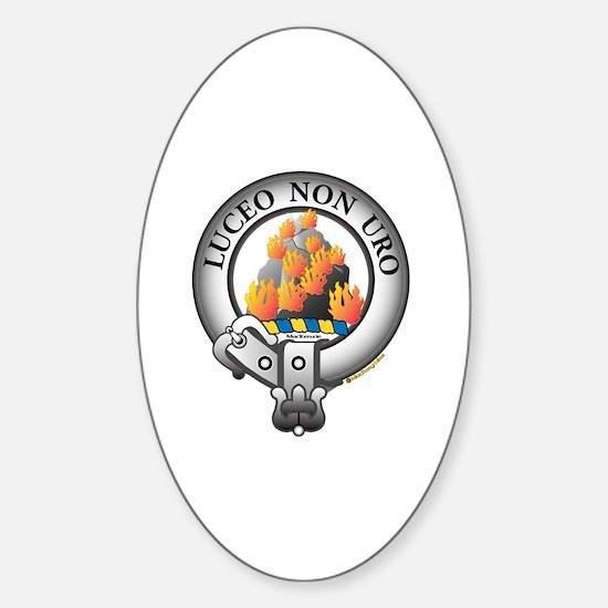 MacKenzie Clan Sticker (Oval)