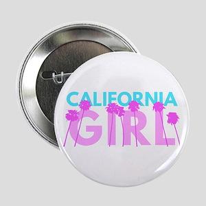 """California Girl 2.25"""" Button"""
