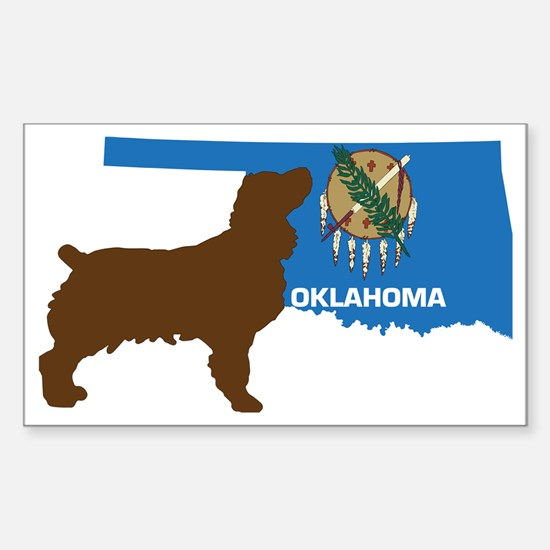 Oklahoma LBD Sticker (Rectangle)