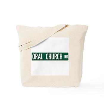 Oral Church Road, Sumrall (MS) Tote Bag