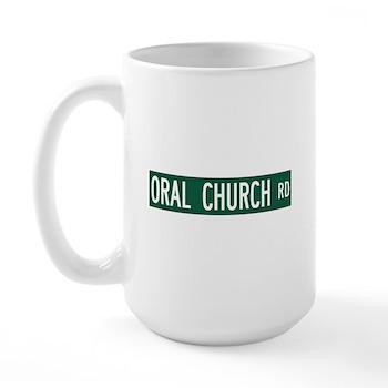 Oral Church Road, Sumrall (MS) Large Mug