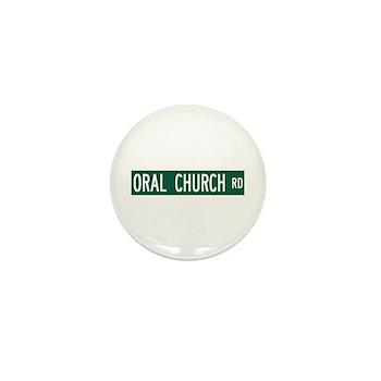Oral Church Road, Sumrall (MS) Mini Button
