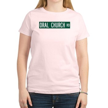 Oral Church Road, Sumrall (MS) Women's Light T-Shi
