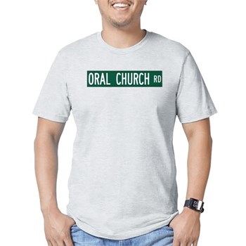 Oral Church Road, Sumrall (MS) Fitted T-Shirt