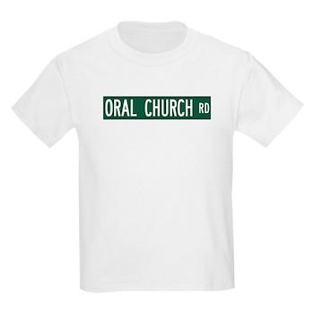 Oral Church Road, Sumrall (MS) Kids Light T-Shirt