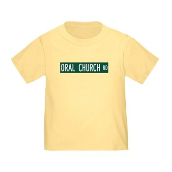 Oral Church Road, Sumrall (MS) Toddler T-Sh