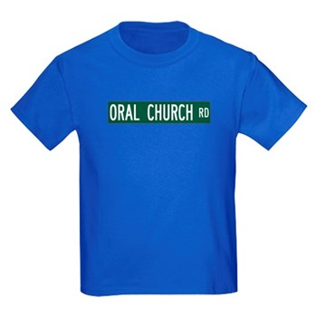 Oral Church Road, Sumrall (MS) Kids Dark T-Shirt