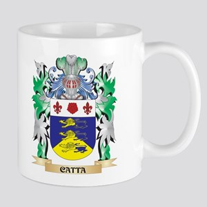 Catta Coat of Arms - Family Crest Mugs
