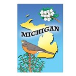 MICHIGAN Postcards 02 (Package of 8)