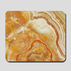 Beige Tones Marble stone Mousepad