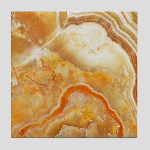 Beige Tones Marble stone Tile Coaster