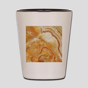 Beige Tones Marble stone Shot Glass