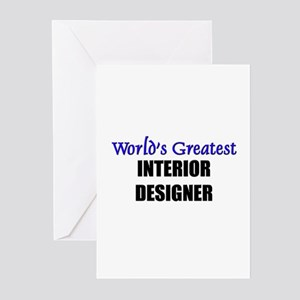 Worlds Greatest INTERIOR DESIGNER Greeting Cards (