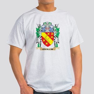 Cavallar Coat of Arms - Family Crest T-Shirt