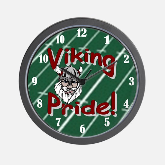 Viking Pride Wall Clock