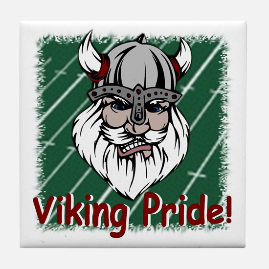 Viking Pride Tile Coaster