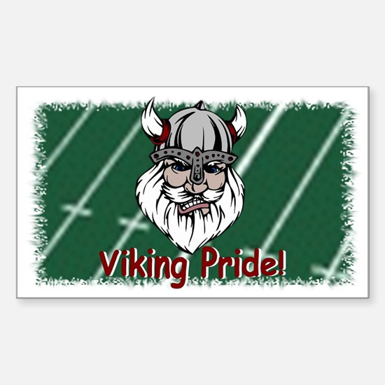 Viking Pride Rectangle Decal