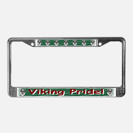 Viking Pride License Plate Frame