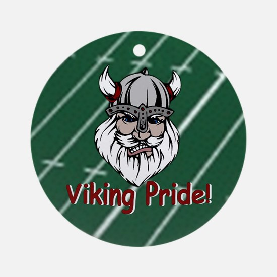 Viking Pride Ornament (Round)