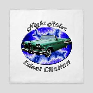 Edsel Citation Queen Duvet