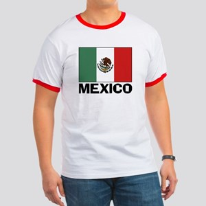 Mexican Flag Ringer T