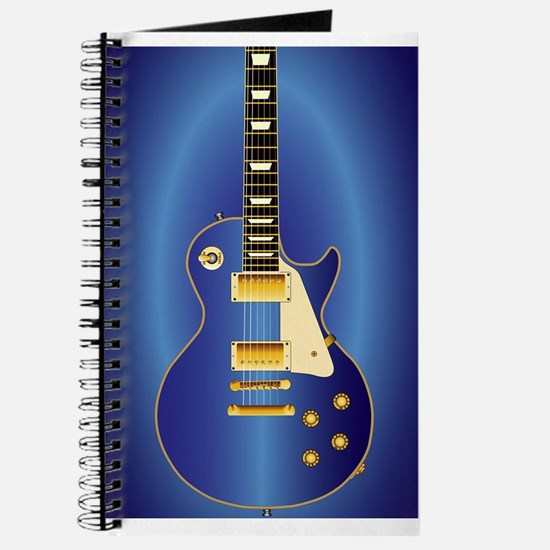 Blue Solid Electric Journal