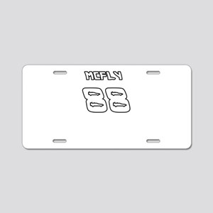 McFly 88 Sports Number Aluminum License Plate